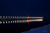 Grand Haven Lighthouse at Night